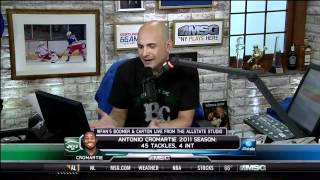 Boomer and Carton talk about Antonio Cromartie kids