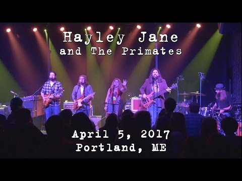 Hayley Jane and The Primates: 2017-04-05 - Port City Music Hall; Portland, ME [4K]