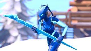 Nouvelle peau BLUE LYNX est INSANE! 10 Frag Gameplay! Fortnite Battle Royale!