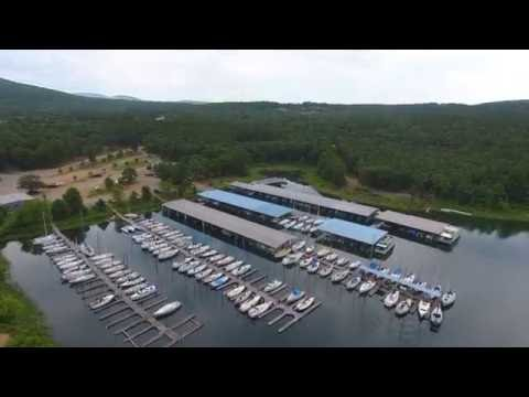 DJI Phantom 4 - Lake Maumelle, Arkansas (4K)