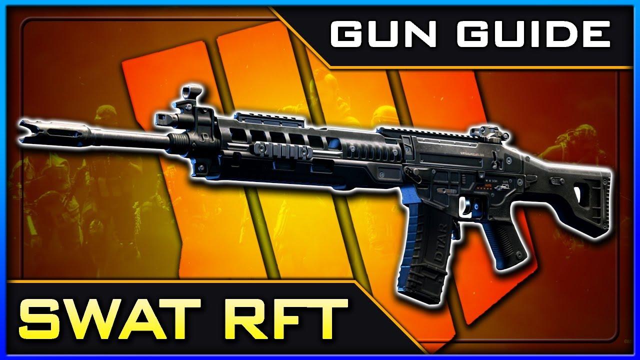 SWAT RFT Stats & Best Class Setups! | Black Ops 4 Gun Guide #16
