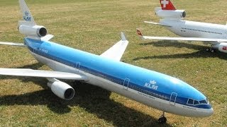 KLM MD-11 RC Turbine powered JET