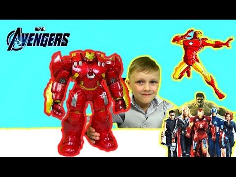 Видео для детей.ХАЛКБАСТЕР .Железный человек против Халка. Avengers .Hulk vs the Hulkbuster