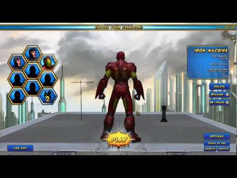 Champions Online Superman Build