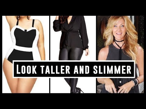 Over 50 Style Tips | Style An Outfit To Look Taller & Slimmer!