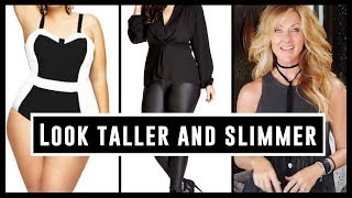 Style An Outfit To Look Taller & Slimmer Over 50 | Dress Skinny 2018