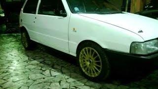Casapesenna (CE) - La Fiat Uno della camorra che corre come una Ferrari -live- (12.02.14)