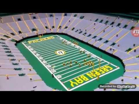 Lego NFL Football Green Bay Packers Stadium - YouTube