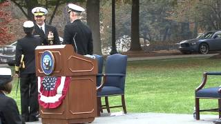 NAVFAC Change of Command and Retirement Ceremony 2012