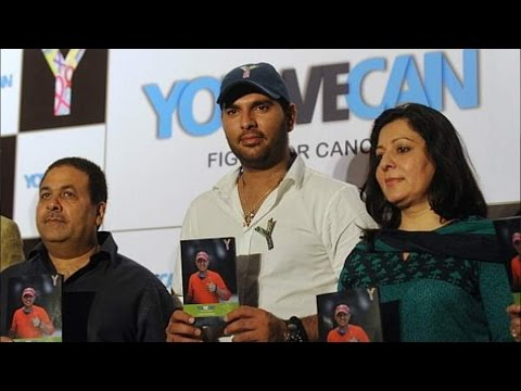 Yuvraj Singh's YouWeCan - An Initiative To Fight Against Cancer