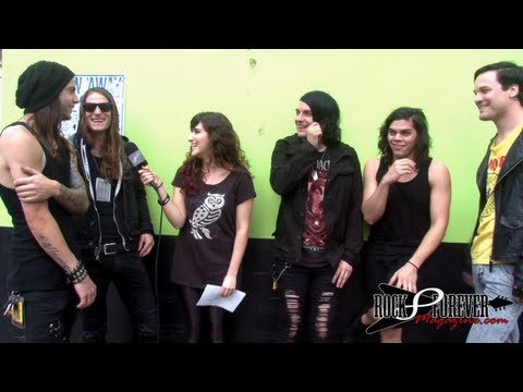 Get Scared Interview with Rock Forever Magazine