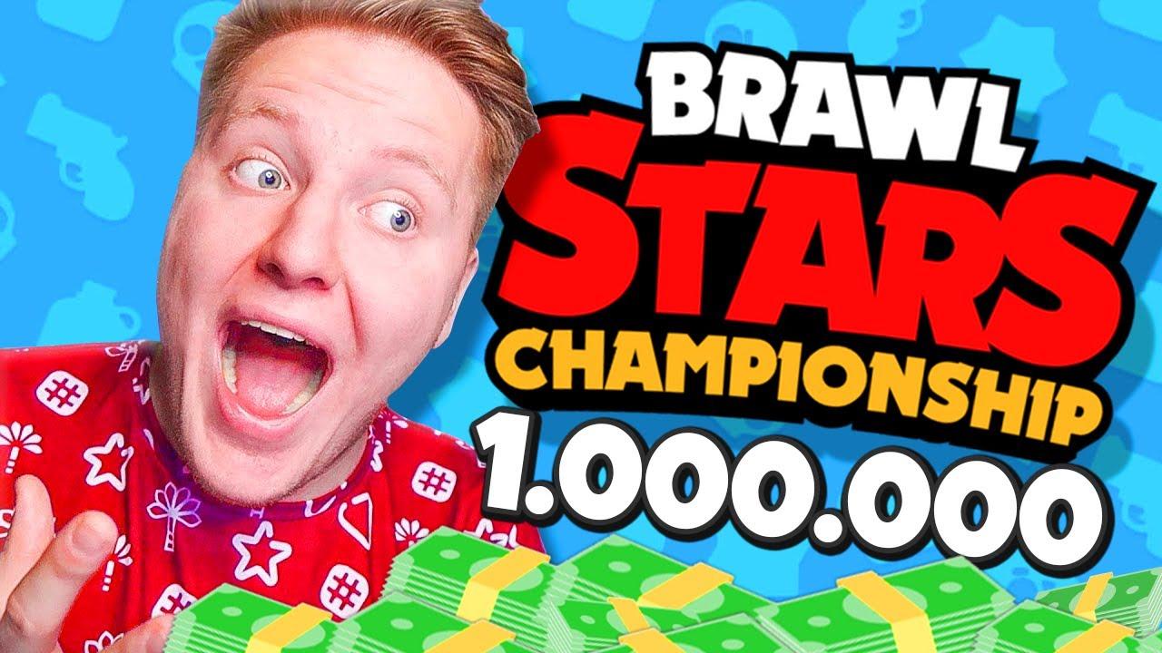 Я ПОЛУЧУ 1.000.000 $$$ ?! ЧЕМПИОНАТ В BRAWL STARS 🔥
