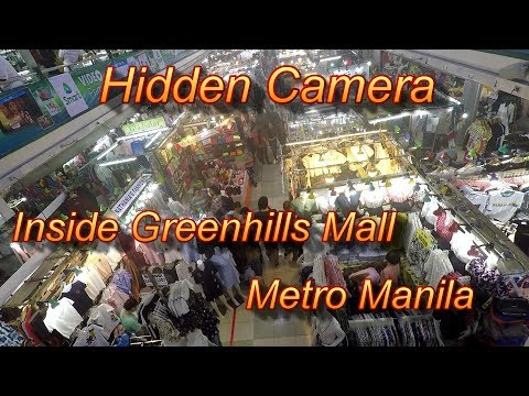 Hidden Camera : Inside Greenhills Mall/Metro Manila