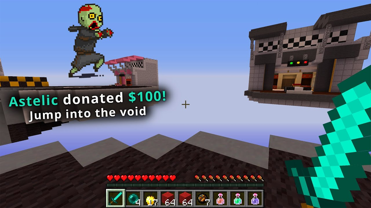Bedwars, but my Stream controls the game