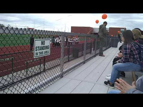 Dundalk high school 2018 walk out (very sad)