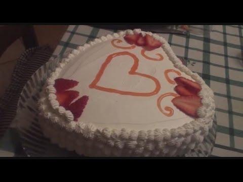 Torta A Forma Di Cuore Per San Valentino Youtube