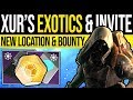 Destiny 2 | XUR EXOTICS & NINE INVITATION! Xur Location, Bounties & NEW Exotics | 19th April 2019