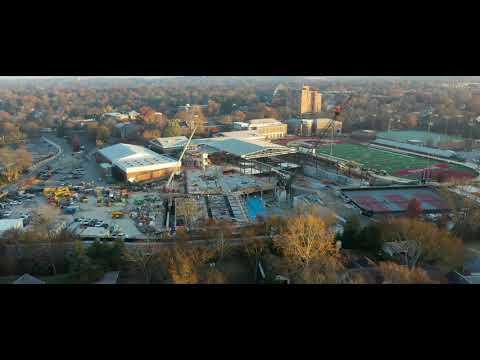 A Bird's-Eye View: Montgomery Bell Academy Burkholder Wellness Center in Nashville