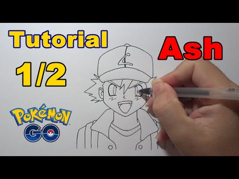 how to draw a pokemon ash