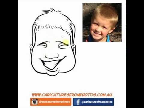 FREE Digital Caricature Sketch Perth - 03