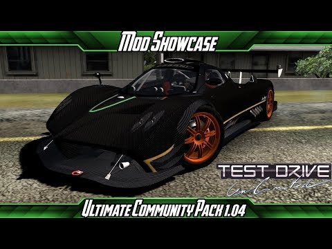 Mod Showcase - Test Drive Unlimited Ultra Community Pack 1.04