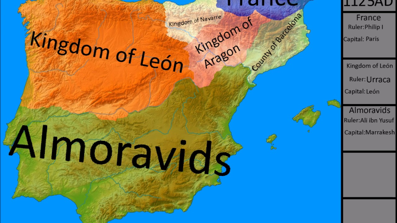 History Of Iberian Peninsula Youtube