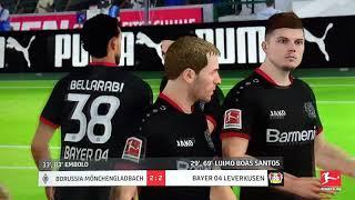 Trainer Karriere M'Gladbach 2 - 2 Leverkusen (Bundesliga)