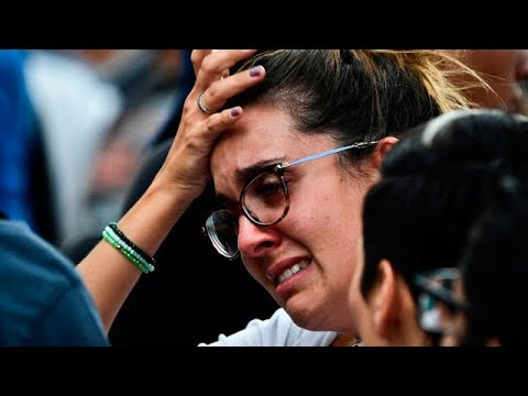 Mexico Earthquake | Terrifying moments captured as quake hits | cell phone video