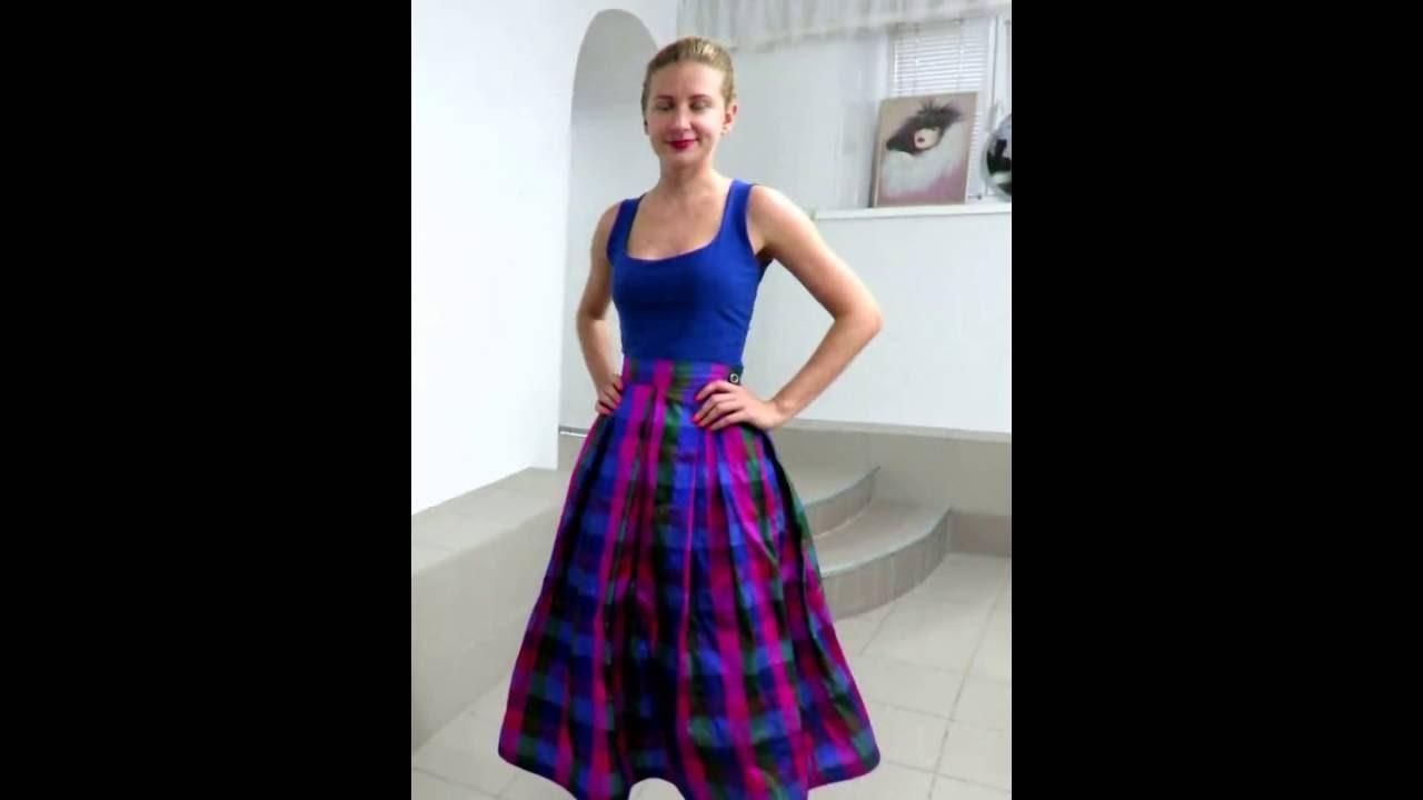 фото юбка шотландка