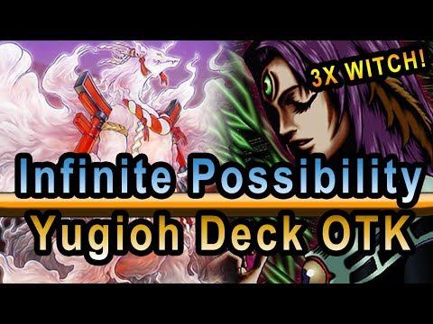 Infinite Possibility OTK Yugioh Deck Ft  Ryu Okami + 3x Witch of the Black Forest 2019