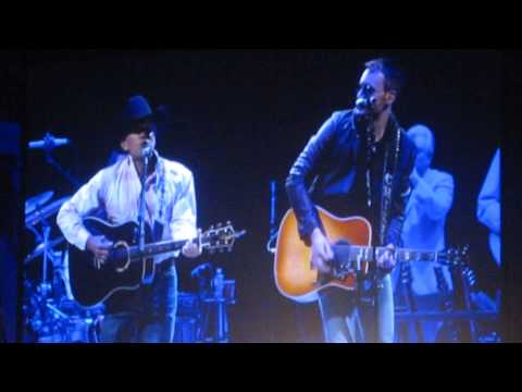 George Strait & Eric Church - Easy Come, Easy Go - Live