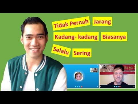 Adverb of Frequency in Indonesian - Learn Real Bahasa Indonesia #21