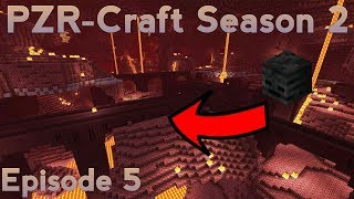 HUNTING FOR WITHER SKULLS!!(PZR-Craft Season 2:Episode 5)