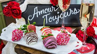 Beth and Cameron's Chocolate Covered Strawberries - Home & Family