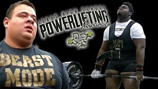 Texas High School Powerlifting State Championships (Boys)  2017 - UTR Highlight mix