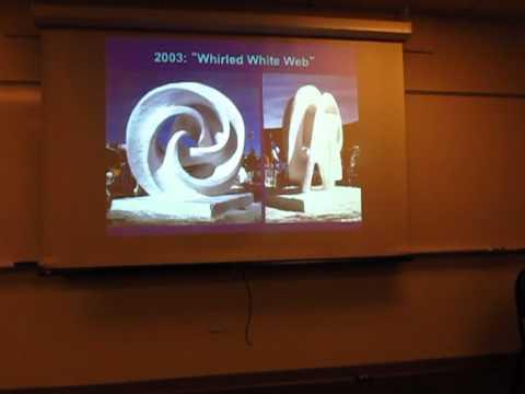 "Carlo Sequin (UC Berkeley) on ""Hyperbolic Hexagon to Evolving Trefoil"""