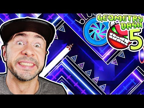 THESE TIMINGS ARE NUTS // Completing 5 Demons In One Video [#11] [GEOMETRY DASH]
