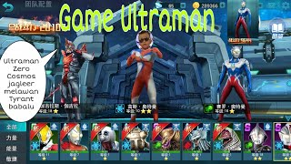 Cara bermain game Ultraman ORB | Ultraman Cosmos dan Zero VS Tyrant dan Babalu