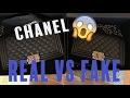 HOW TO SPOT A FAKE CHANEL HANDBAG! Chanel Real vs. Fake Comparison | Opulent Habits