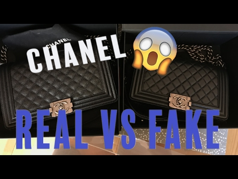 c110040957 HOW TO SPOT A FAKE CHANEL HANDBAG! Chanel Real vs. Fake Comparison |  Opulent Habits