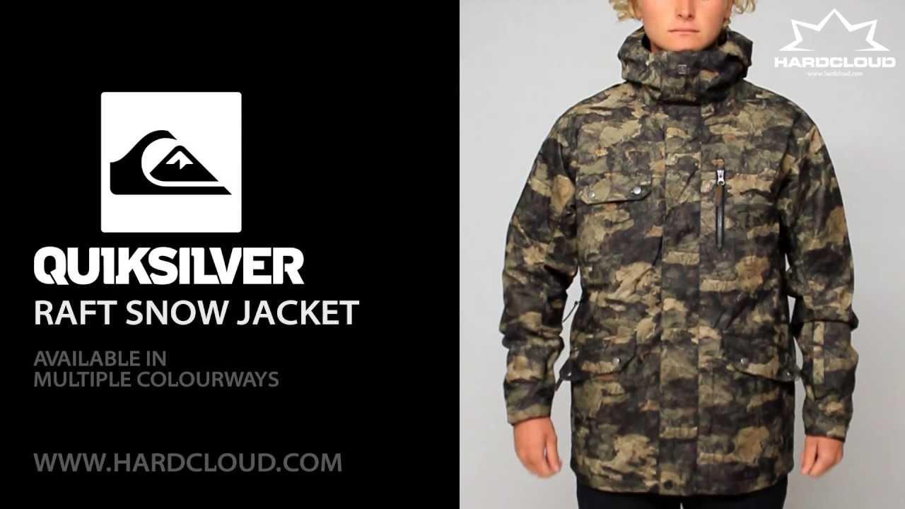 Quiksilver Raft Snow Jacket Demo Youtube