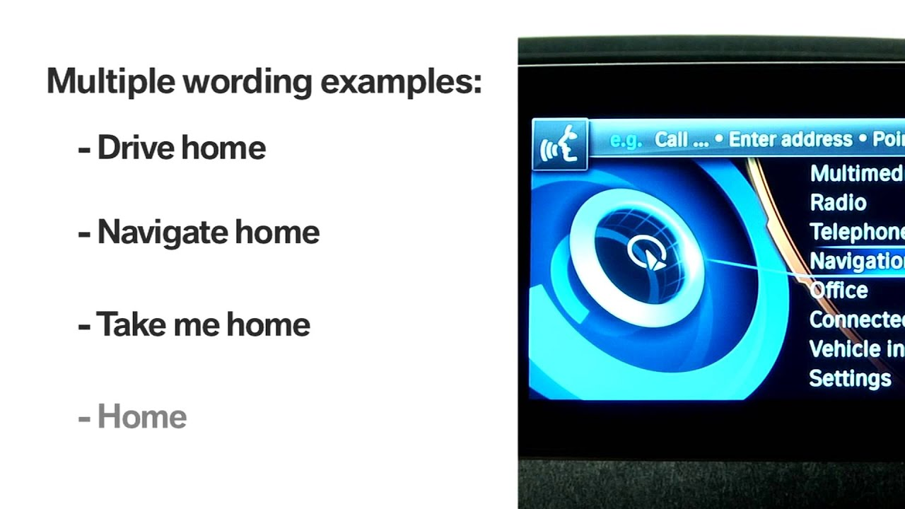 BMW i3 Voice Command: Take Me Home | BMW Genius How-To ...