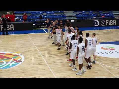 Great Britain v Bulgaria   Full Game   Quarter Finals   FIBA U18 European Championship 2017   DIV B