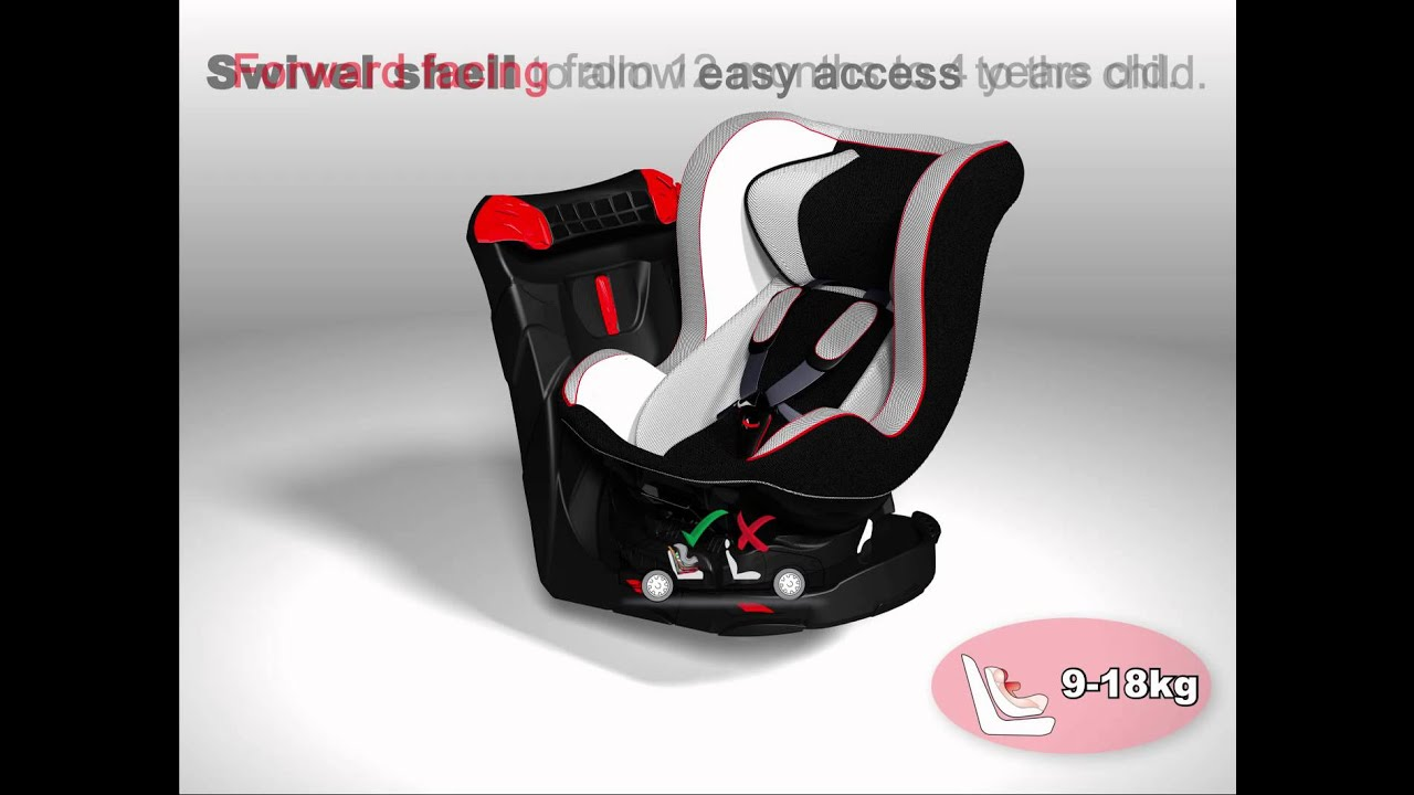 Swivel Car Seat >> Swivel Car Seat Revo Youtube