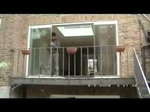 Frameless Glass Curtains Double Glazed Frameless Balcony