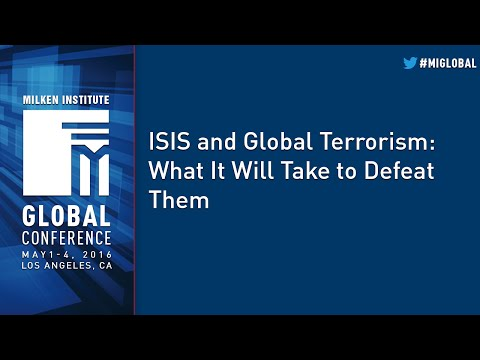 ISIS and Global Terrorism: What It Will Take to Defeat Them