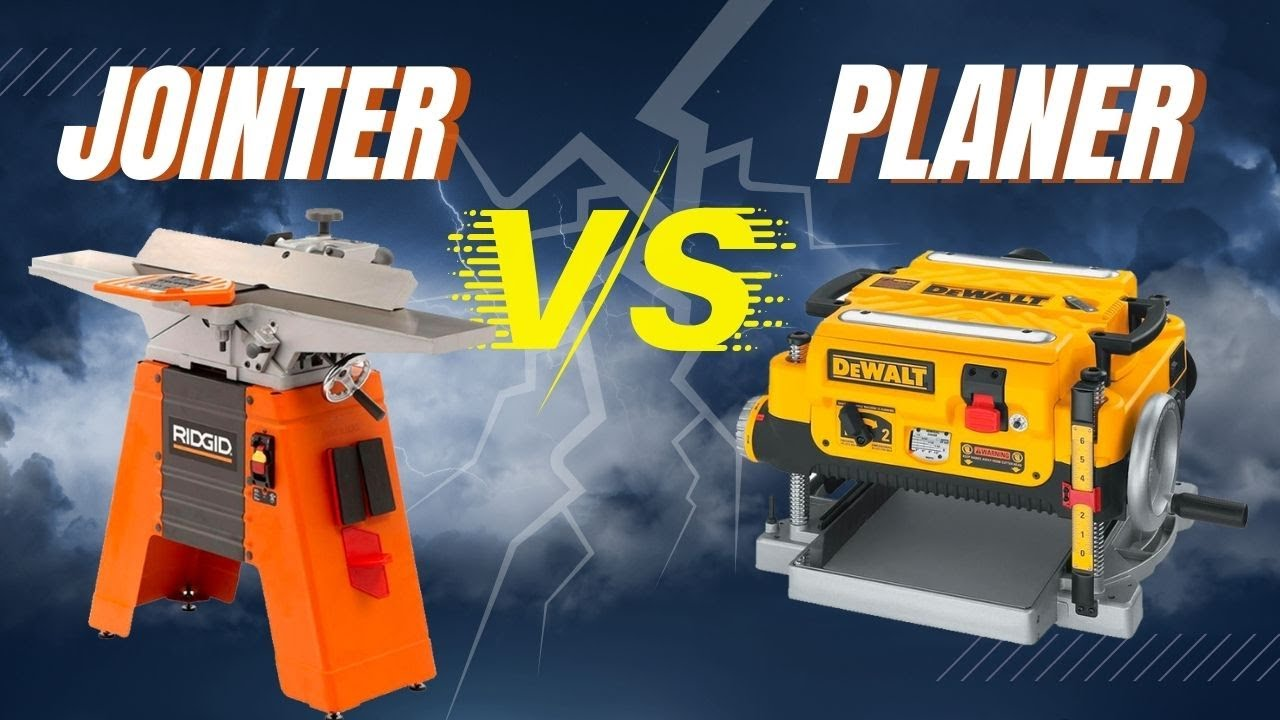 Planer Vs Jointer What S The Difference Woodshop 101 Youtube
