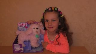 Интерактивная игрушка 'Ходячий розовый пудель', FurReal Friends, Hasbro