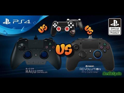 Razer Raiju VS Nacon Revolution VS Scuff YouTube