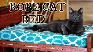 ROPE BUNK BED FOR CATS